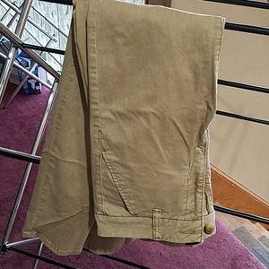 Skinny stretch tan pants